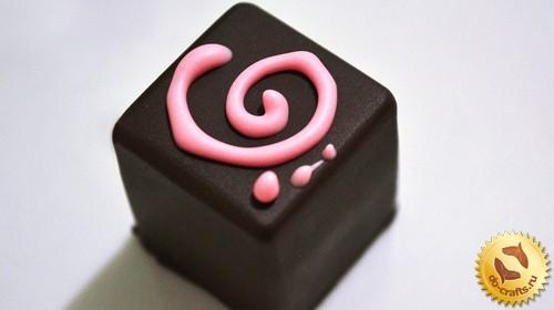 Как сделать конфеты в силиконовой форме