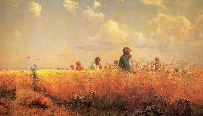 Косцы. Бунин Ответы на вопросы по литературе 5 класс Коровина