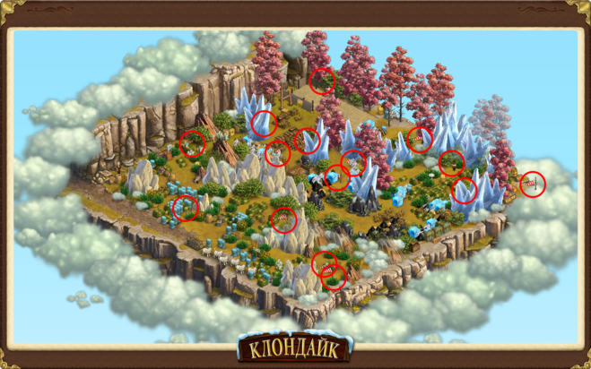 Карта звездная тропа в игре верность