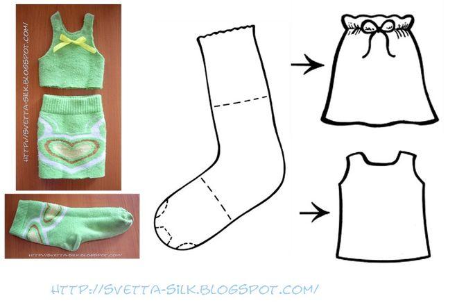 Как из ткани сделать платье для куклы барби