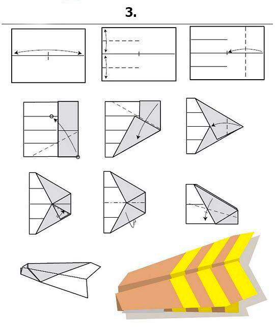Как сделать из бумаги самолет, который летает 100 метров?
