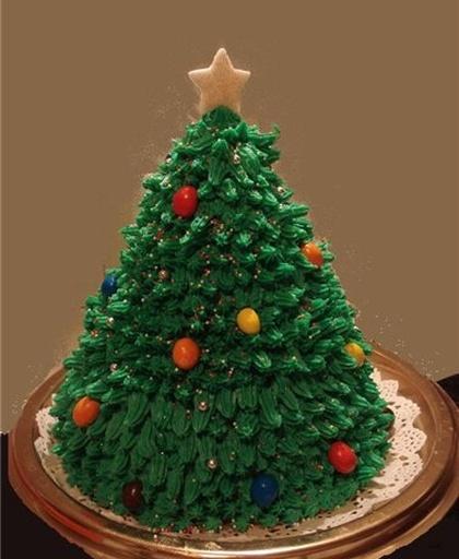 Как сделать торт елка