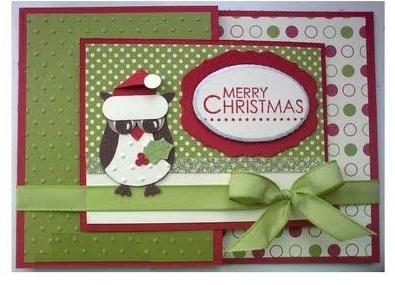 открытка с совой с новым годом