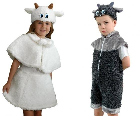 Как сделать костюм на новый год ребенку