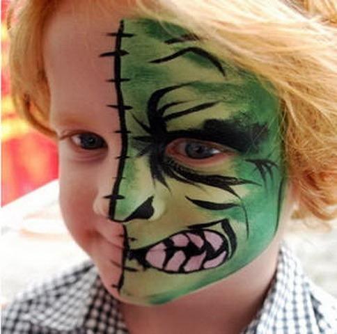 Как сделать маску на лицо детям