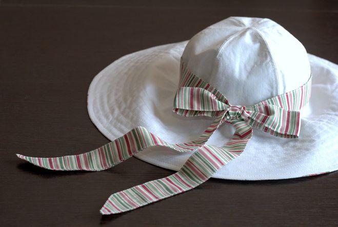 Пляжная шляпка своими руками мастер класс 43