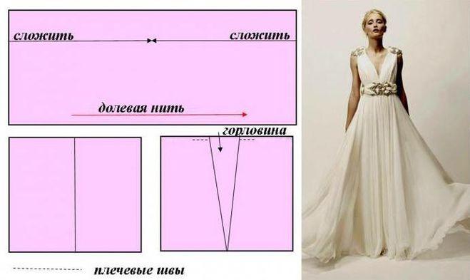 Платье греческого стиля своими руками фото 164