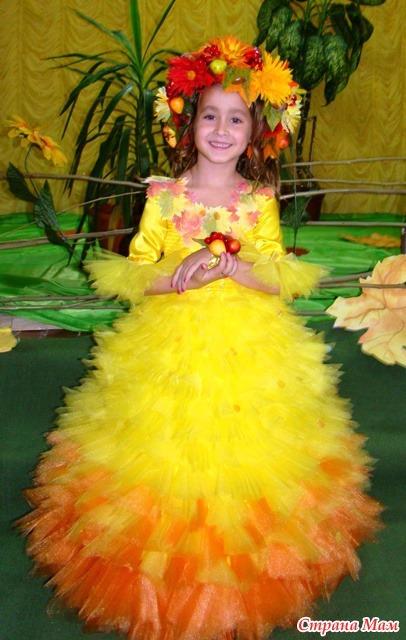 Длинное платье для девочки своими руками фото 178