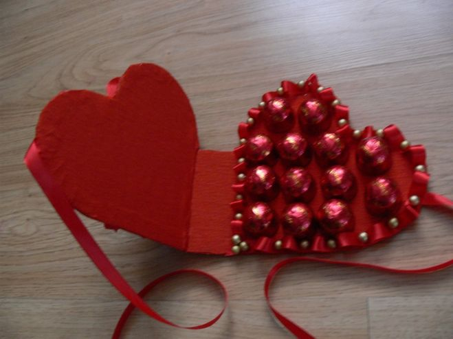 Подарок на 14 февраля своими руками фото