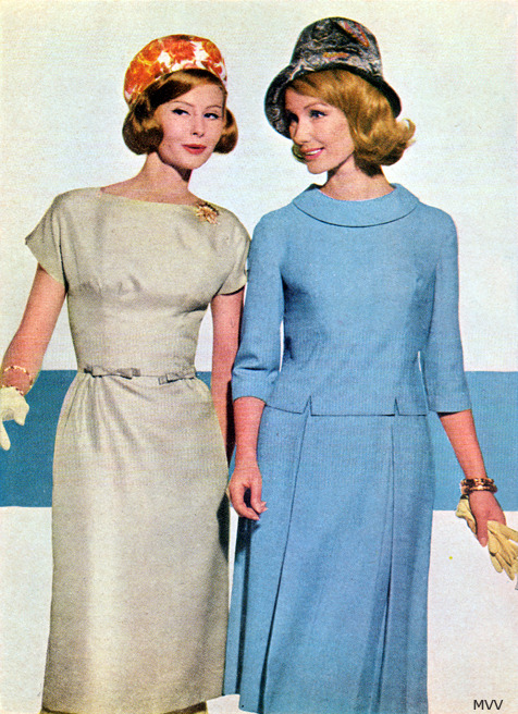 Модели платьев в стиле 60 х