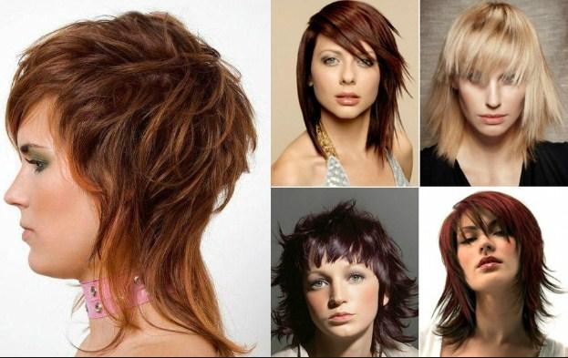 Причёска аврора или каскад