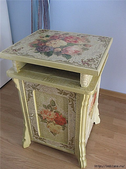 Все о декупаже и декорирование мебели