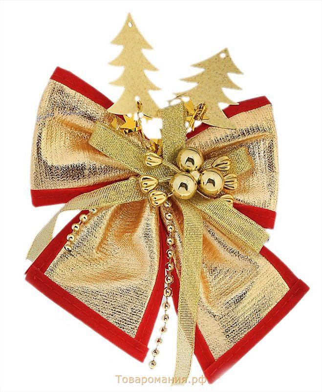 Бантик на новогоднюю елку