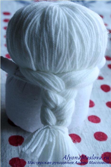 Как сделать косу для снегурочки фото 62