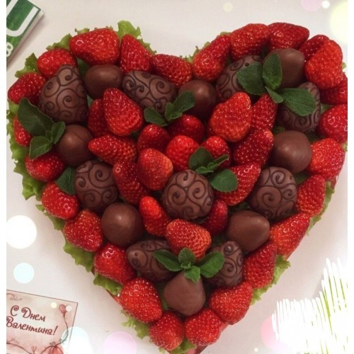 Сердце из шоколад своими руками фото 231