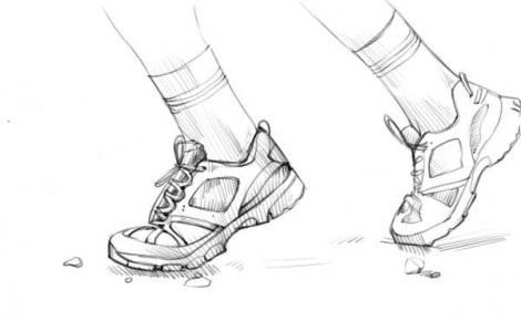 нарисовать кроссовки 4