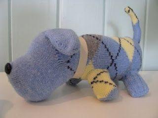 собака из носок