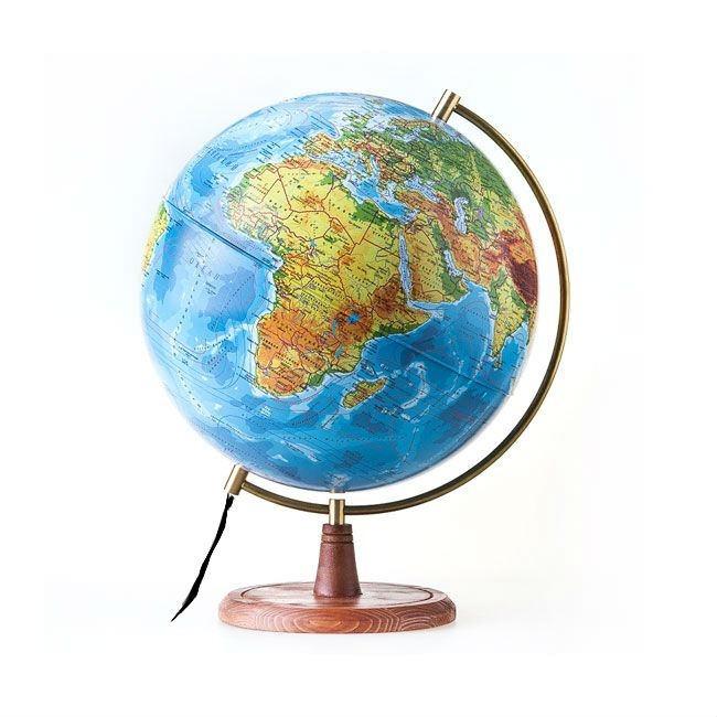 самый большой в мире глобус