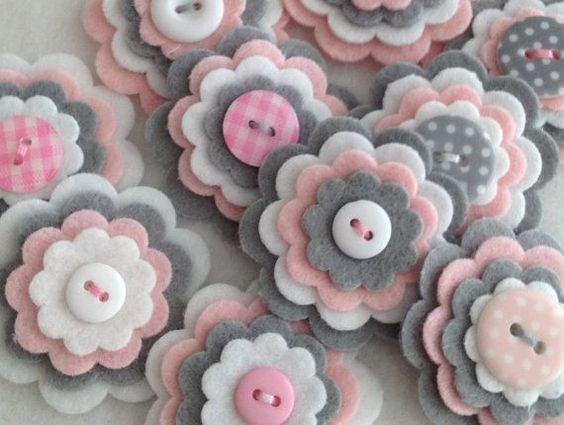 цветы из фетра своими руками для украшения