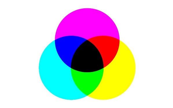Какие цвета смешать чтобы получить чёрный цвет