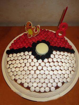 вечеринка Покемон Пати украшение торт-покебол