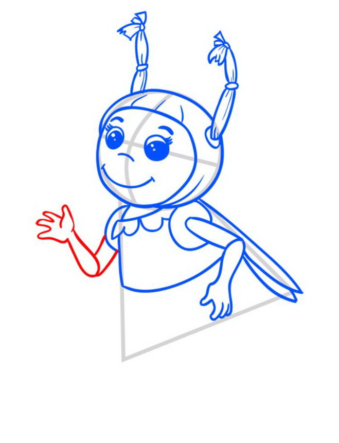 Как из рисунка сделать схему фото 703