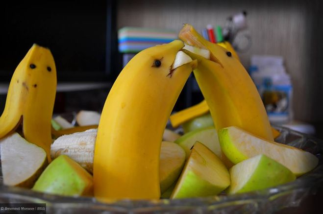 Украшения своими руками из банана и