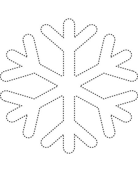 снежинка рисунок