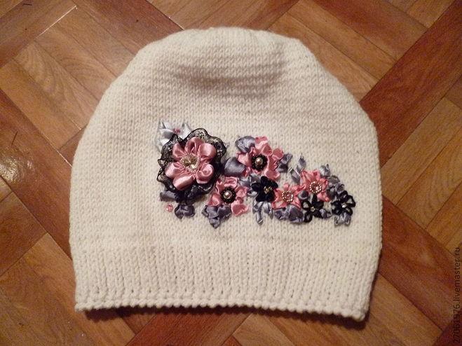 Вышивка на шапках фото 1