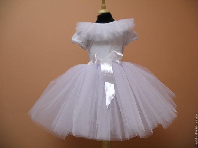 Сшить платье снежинки из фатина 89