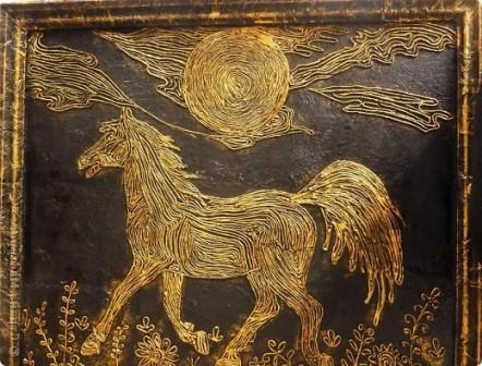 пейп-арт лошадь