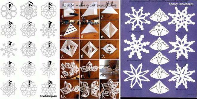 Как сделать из бумаги новогодние украшение