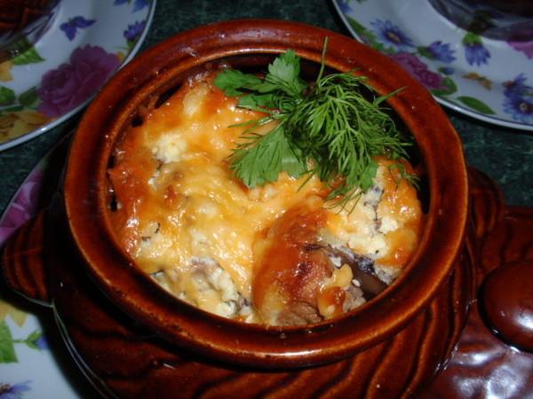 Мясо в горшочке с картошкой в духовке пошаговый рецепт с фото
