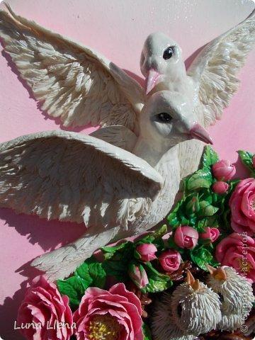 Соленое тесто поделки голубей 14