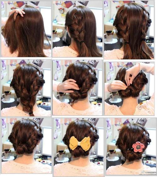 какую прическу сделать на волосы до плеч