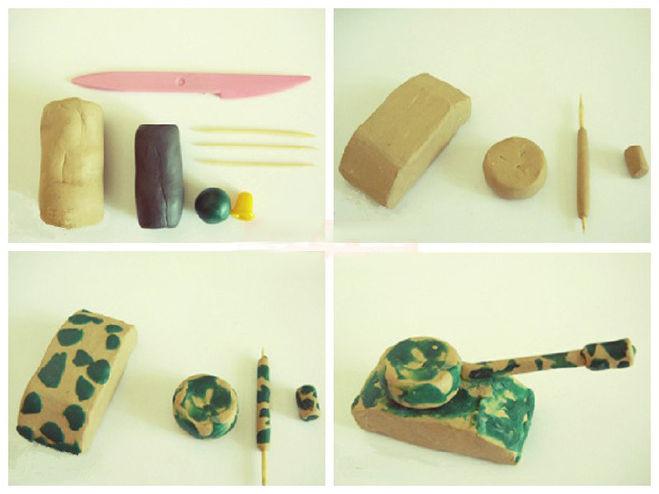 Покрытие мастер модели из пластилина