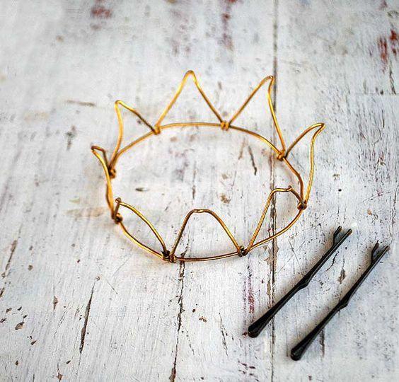 корона своими руками из проволоки мастер-класс