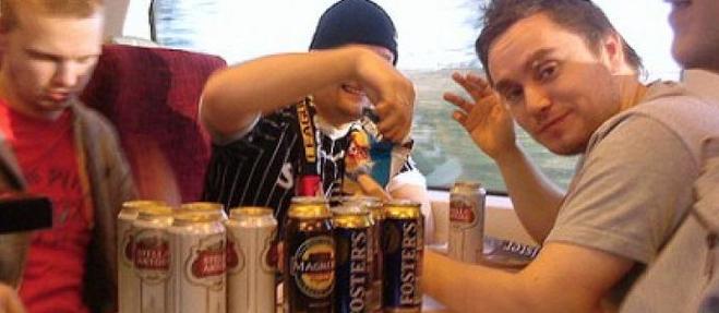можно ли пить в поезде