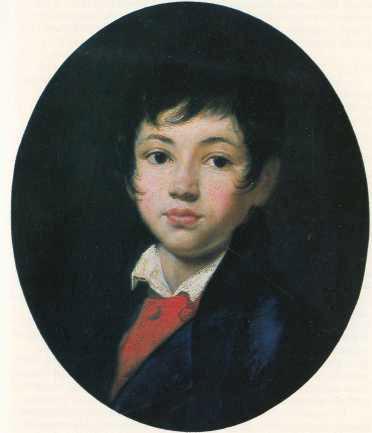 кипренский портрет мальчика челищева