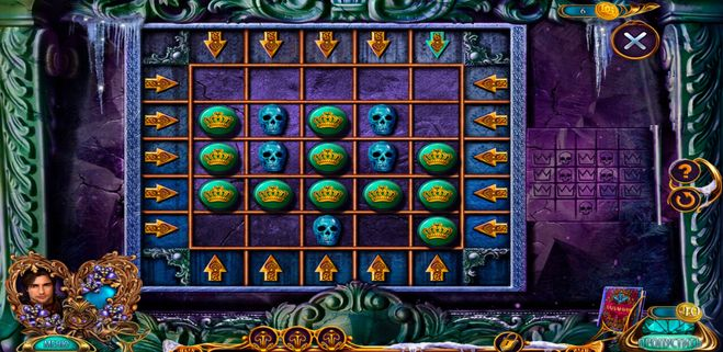 Скриншот черепов