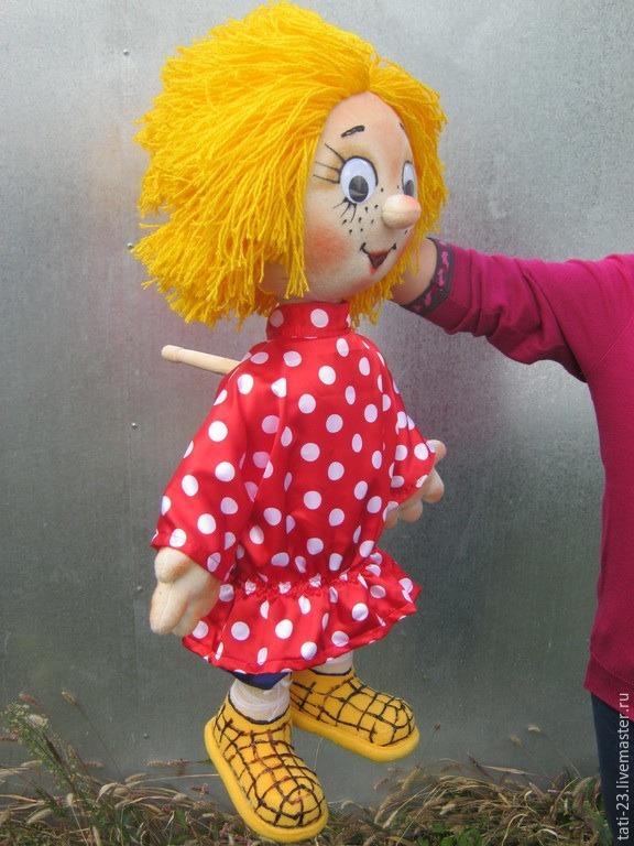 Как выглядит планшетная кукла?