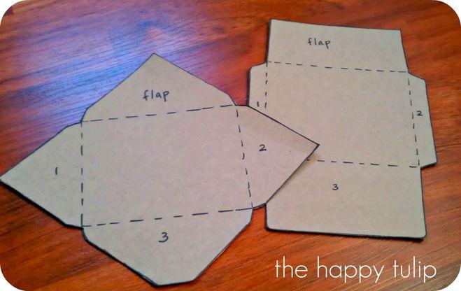 Как сделать оригинальный конверт для письма