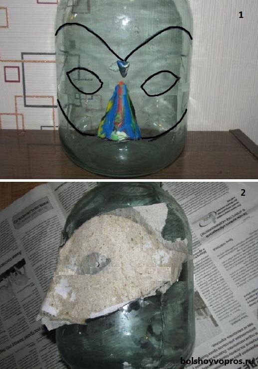 как сделать чёрную маску из ткани