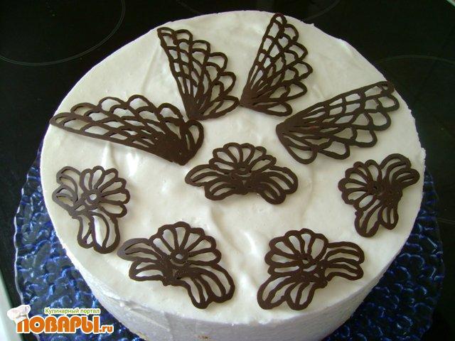 Украшения для торта своими руками из шоколада