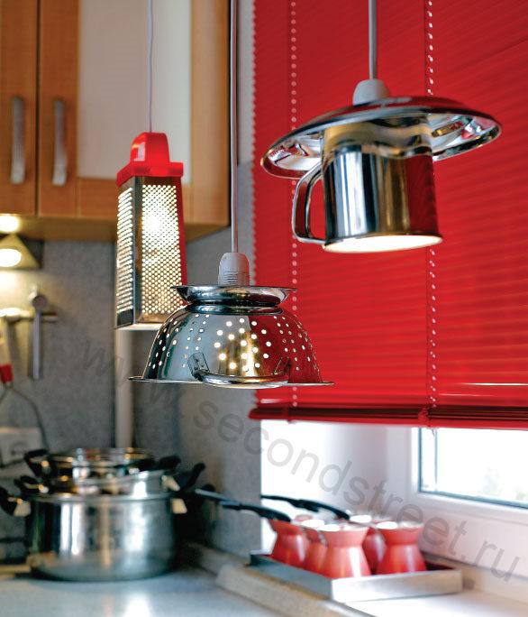 Лампы своими руками на кухню