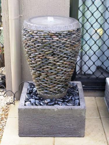 Декор из плошек