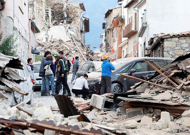 Землетрясение в Италии 26 октября 2016. Фото, видео с места событий?