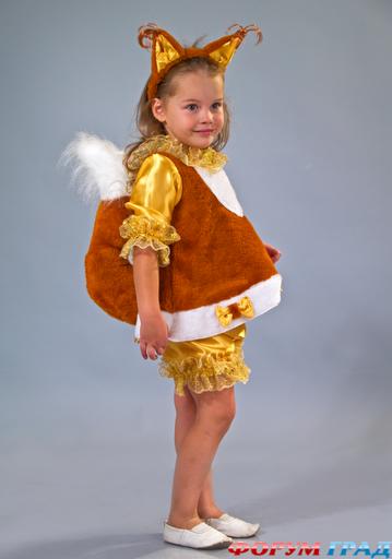 Как сделать костюм белочки для девочки фото 604