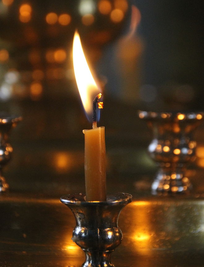 Перевернутая свеча