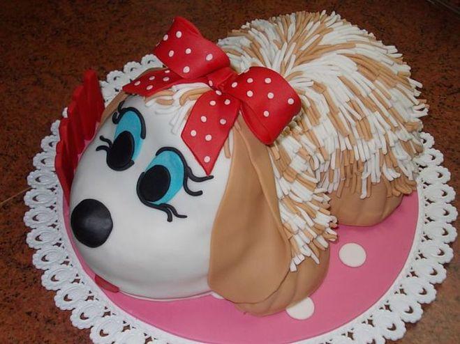 Детские торты для девочек своими руками